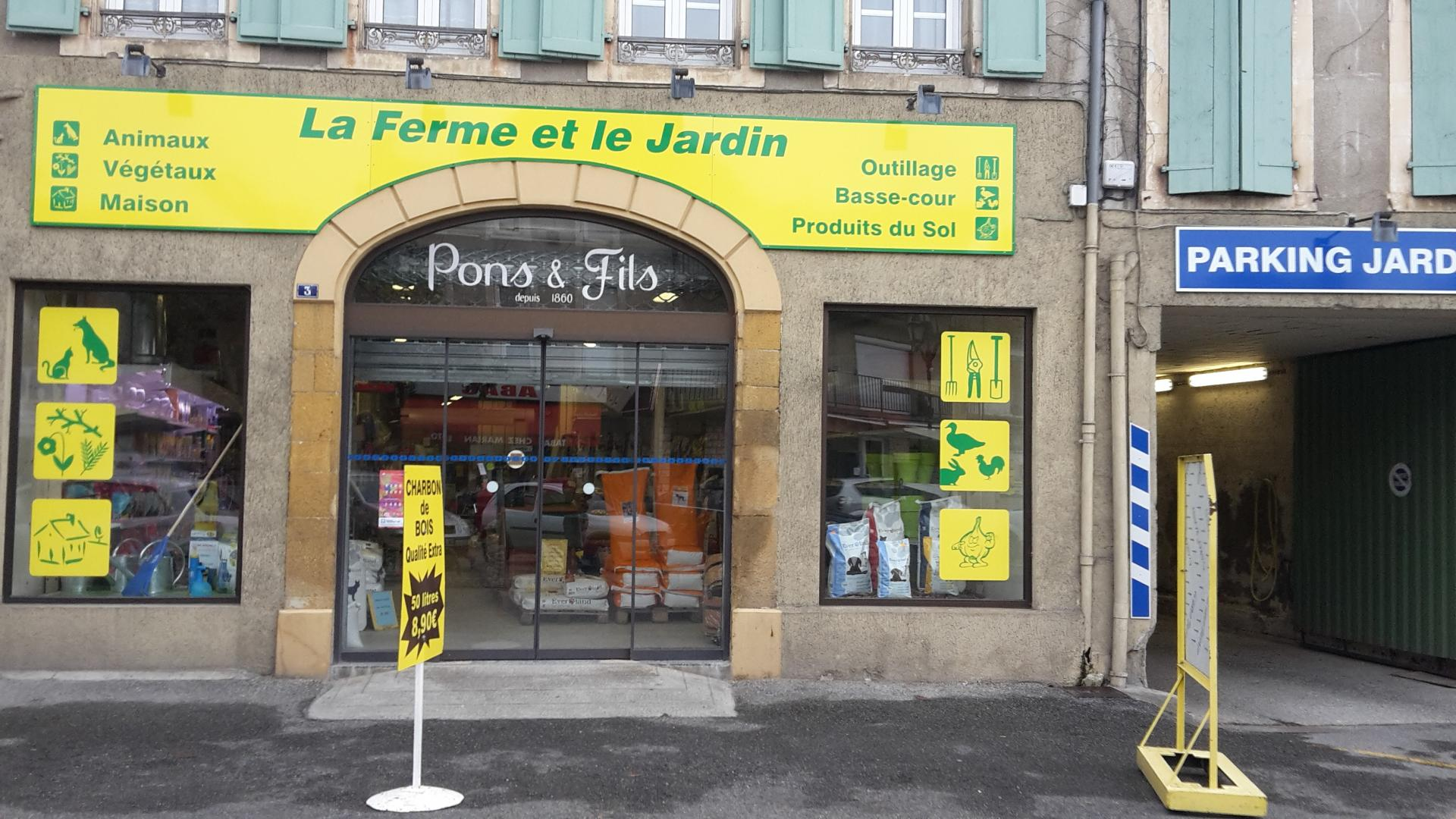 Le magasin actuel